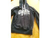 Navy superdry hoodie