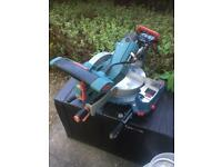 Erbauer sliding miter saw