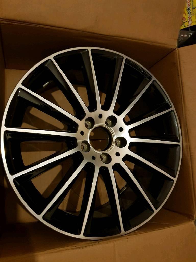 "Genuine Mercedes W205 c63 19 "" Turbine Alloys"