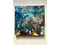 Hand painted Abstract Art Canvas