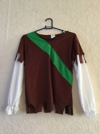 Robin Hood Fancy Dress Outfit,Costume For Boys Large Size: Age 9-11