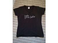 Ladies Caister diamonte t shirt size 12