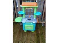 kids play kitchen indoor or outdoor