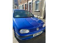 VW Golf mk 4 hatchback 2001