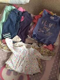 Girls nursery clothes bundle