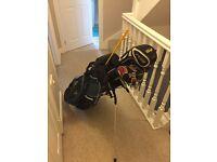 Full set of golf clubs. Wilson Taylor made ping mizuno.