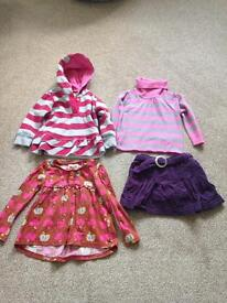 Small bundle of baby girls clothes 18-24 months Next, Pumpkin Patch and Marks & Spencer