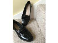 Next black ladies shoes size 7 - worn once - excellent condition.