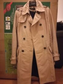 Pre-loved Zara Trench Coat for Autumn- Size XS