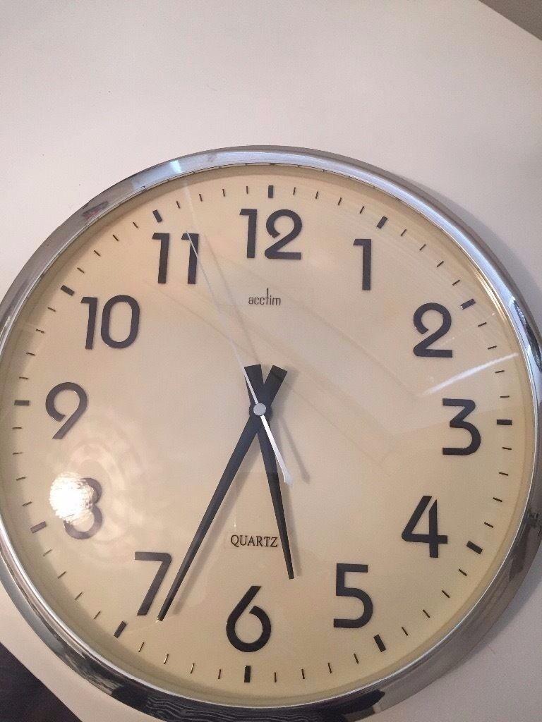 Quartz acctim wall clock in wembley london gumtree quartz acctim wall clock amipublicfo Choice Image