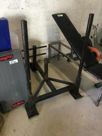 Prowler sled second hand weights gym