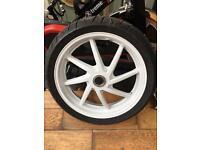 Vfr 400 nc30 rear wheel