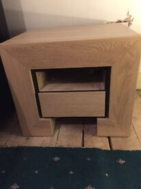 2 double wardrobes, set of drawers an 2 bedside tables