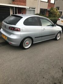 1.4 Seat Ibiza 07 only 79k miles *Cheap Insurance*