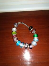 Love links bracelet with beads ALL OFFERS CONSIDERED