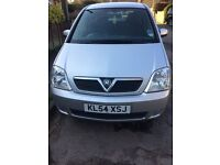 Vauxhall Meriva Enjoy Twinport Silver