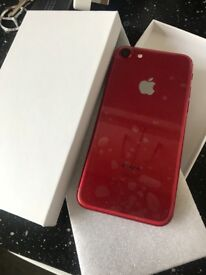 Iphone 7 128gb red edition Unlocked