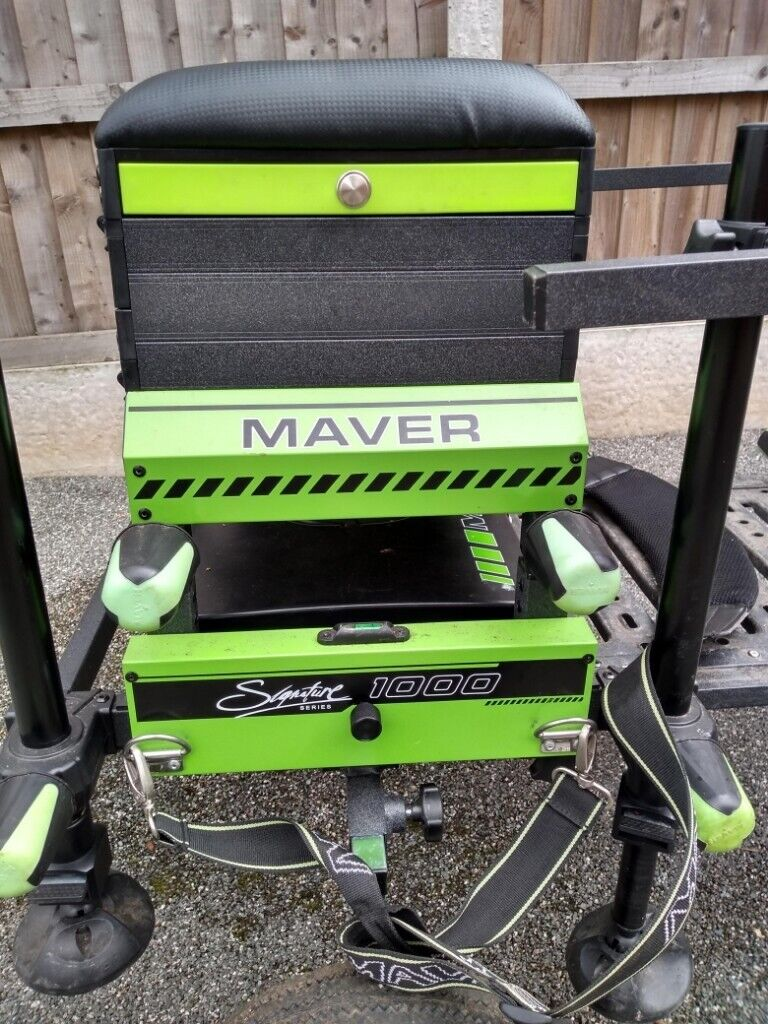 Maver Signature fishing seat box | in Featherstone, West Yorkshire | Gumtree