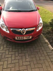 RED 3 DOOR VAUXHALL CORSA FOR SALE!!
