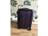 Cabin Size Hard Samsonite Suitcase in Purple