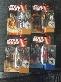 Star wars figures unused gift