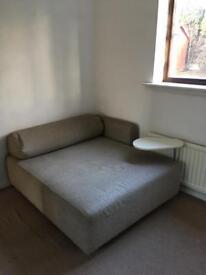 Corner sofa/lounger