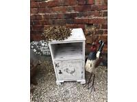 Shabby Chic Vintage Cabinet in Annie Sloan CP