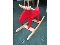 Rocking horse (moose )