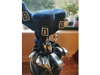 Set of Hippo golf clubs
