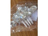Bridal hair clip/slide - accessory, wedding, bride, bridesmaid