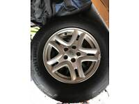 Land Rover freelander 2 wheels and tyres