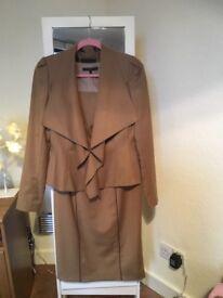 Size 12 coast dress and jacket worn once paid 180 would like 70