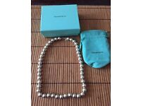 Tiffany & Co Silver necklace