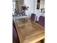 Immaculate condition Art Deco dining table and chair set