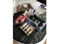 Pro air tanning kit and tanning tent