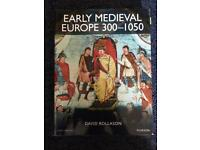 Early Medieval Europe 300-1050 by David Rollason 2012