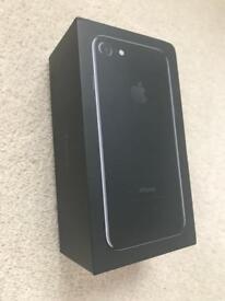 Unlocked apple iPhone 7 piano black 128gb
