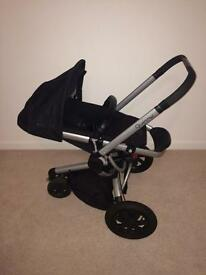 Quinny buzz buggy & car seat (includes quinny change bag & footmuff )