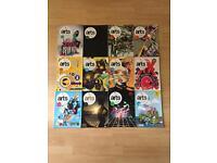 Computer Arts Magazines - Bundle of 12 with CDs (Jan 2012 to Dec 2012) No April