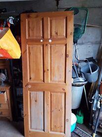 """4 Pine doors width 30"""""""
