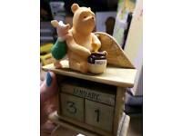 Classic Winnie the Pooh Calendar