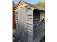 Free shed - for demolition/reuse/kindling. MUST GO BY FRIDAY 27TH.