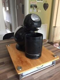 Dolce gusto coffee machine with pod drawer