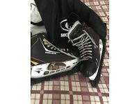 Nike bauer ice skates for sale ! Size 10.5
