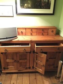 Solid Pine Dresser,Drawer Set,Large CD Cabinet,Large Coffee Table Collection Only