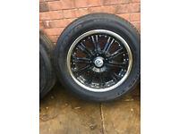 "Alloy wheels 18"" inch Mitsubishi L200 L300 L400 pajero Ford ranger Nissan Terrano navara pathfinder for sale  Oldham, Manchester"