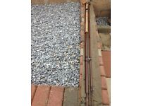 ****FISHING ROD MADE BY BRUCE & WALKER - VERY RARE EXAMPLE****REDUCED**
