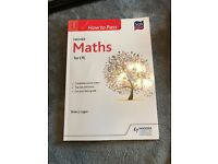 CfE Higher Maths past paper book + how to pass book (Perfect Condition)