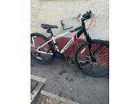 """Adult 14"""" frame 21 speed 26"""" wheels with disc brakes bike"""