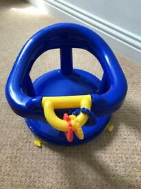 Bath seat support